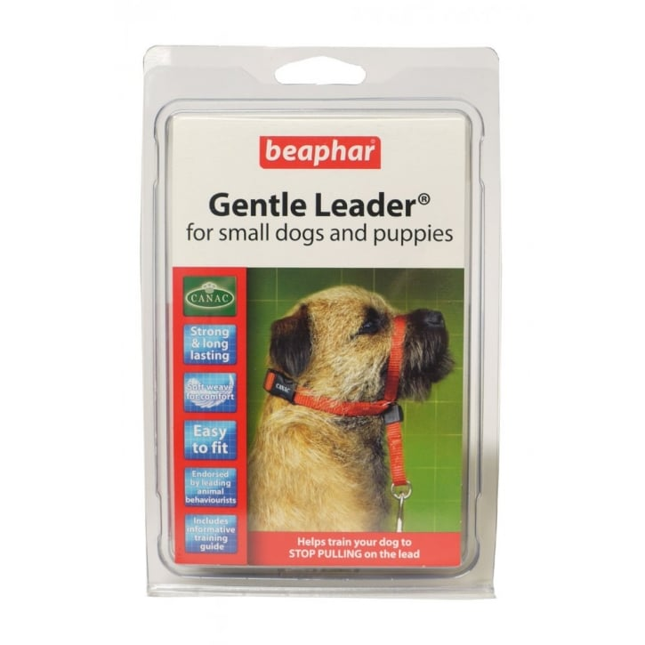 Beaphar Gentle Dog Leader - Small - Black
