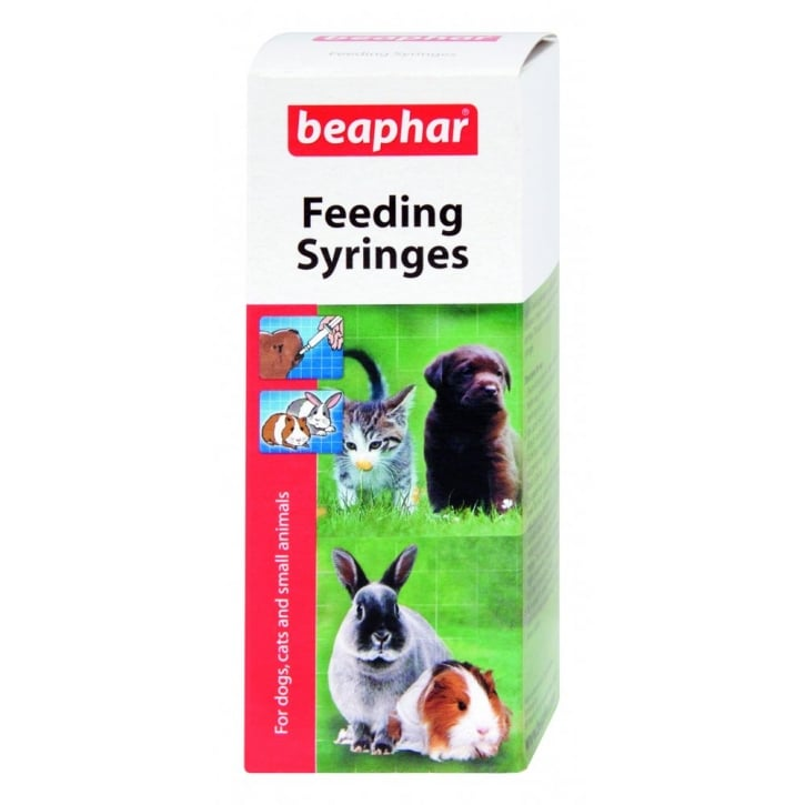 Beaphar Lactol Feeding Syringes For Dogs,cats & Small Animals.