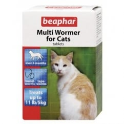 Multiwormer For Cats - 12 Tablet Pack