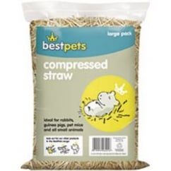 Bestpets Compressed Straw - Large