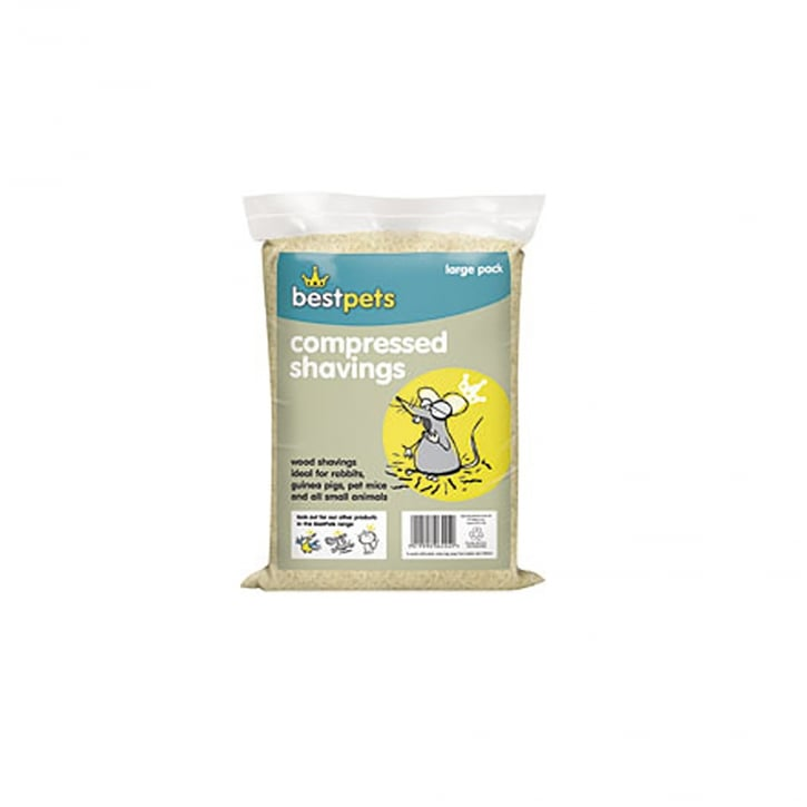 Bestpets Compressed Wood Shavings Large