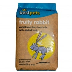 Bestpets Fruity Rabbit Complete Food With Added Fruit 15kg