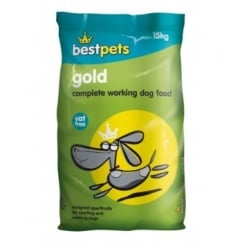 Bestpets Gold Complete Working Adult Dog Food 15kg Vat Free