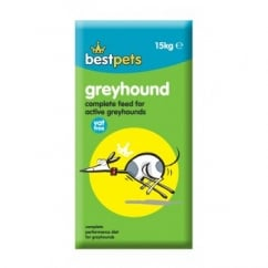 Bestpets Greyhound Complete Dog Food For Active Dogs 15kg Vat Free