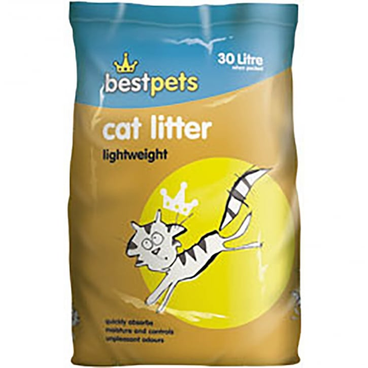 Bestpets Lightweight Cat Litter 30ltr