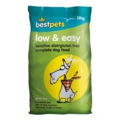 Bestpets Low And Easy Sensitive Diet/Gluten Free Complete Dog Food 15kg