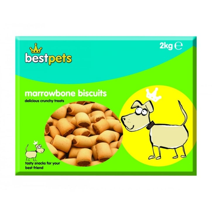 Bestpets Marrowbone Dog Biscuits - 2kg