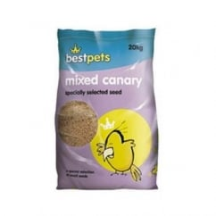 Bestpets Mixed Canary Bird Seed - 20kg