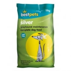 Bestpets Silver Greyhound Maintenance Complete Dog Food 15kg Vat Free