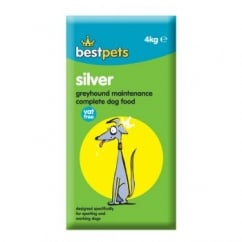 Bestpets Silver Greyhound Maintenance Complete Dog Food 4kg Vat Free