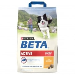 Active Adult Dog Food With Chicken 2.5kg