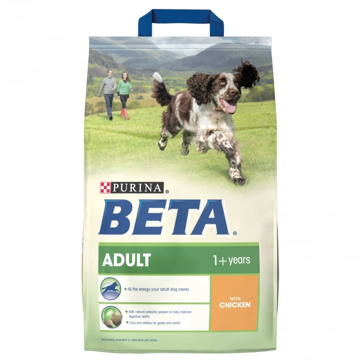 Beta Adult Dog Food With Chicken 2.5kg
