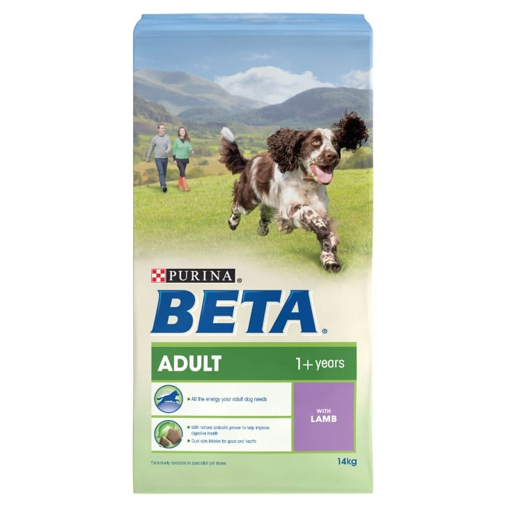 Beta Adult Dog Food With Lamb 14kg