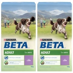 Adult Dog Food with Lamb 2 x 14kg