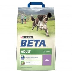 Beta Adult Dog Food With Lamb & Rice 2.5kg