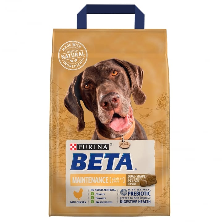 Beta Adult Pet Maintenance Dog Food with Chicken 2.5kg