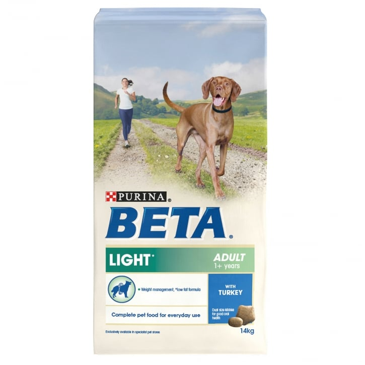 Beta Light Adult Dog Food With Turkey 14kg