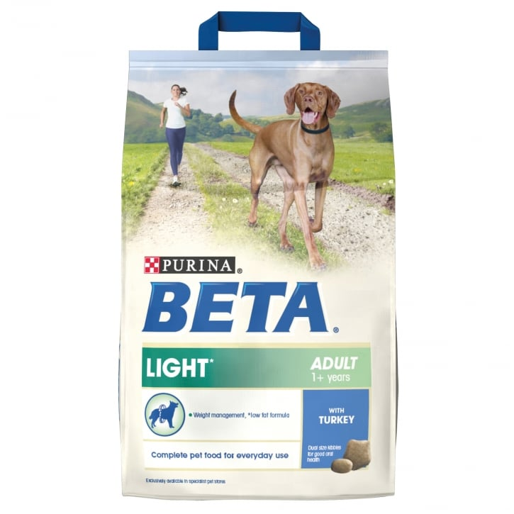 Beta Light Adult Dog Food With Turkey 2.5kg