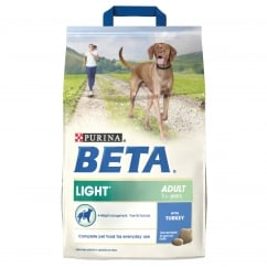Light Adult Dog Food With Turkey 2.5kg