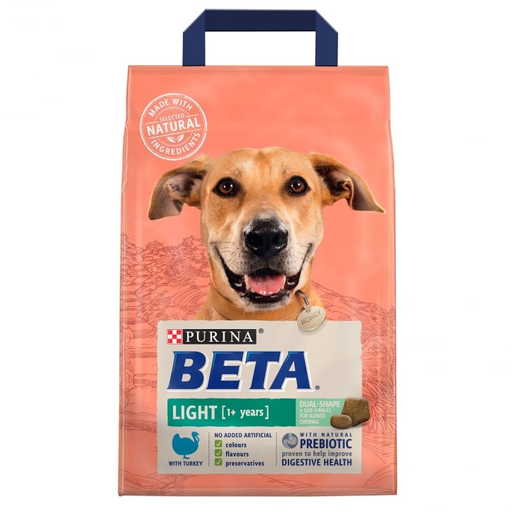 Beta Light Dog Food With Turkey 1+ Years 2.5kg