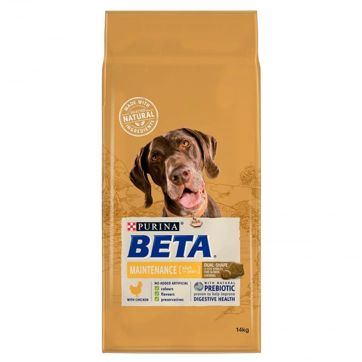 Beta Pet Maintenance Adult Dog Food with Chicken 14kg