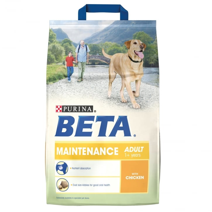 Beta Pet Maintenance Adult Dog Food With Chicken 2.5kg