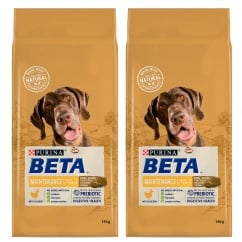 Pet Maintenance Dog Adult Food with Chicken 2 x 14kg