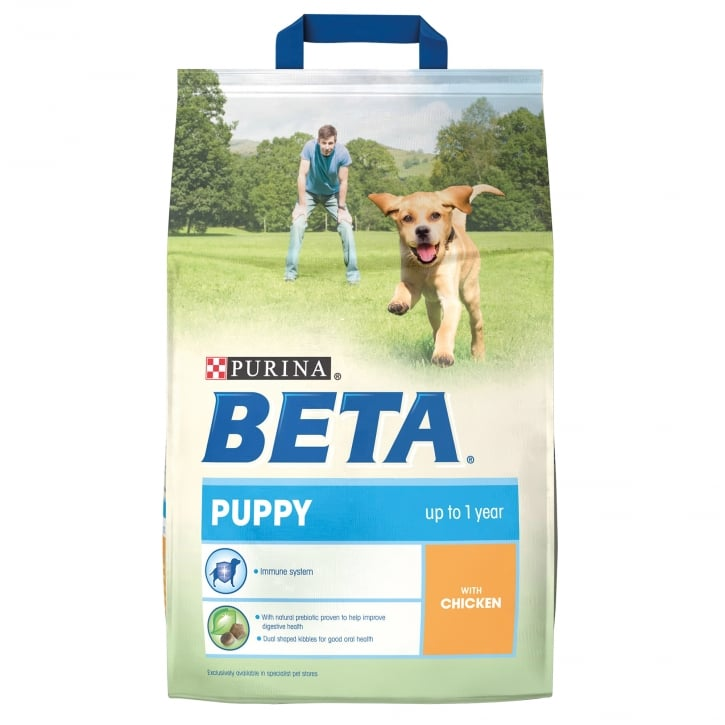Beta Puppy Complete Dog Food With Chicken 2.5kg