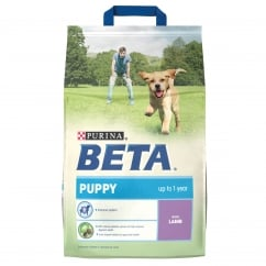 Beta Puppy Complete Dog Food With Lamb 2.5kg