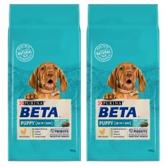 Puppy Dog Food With Chicken Up To 1 Year 2 x 14kg