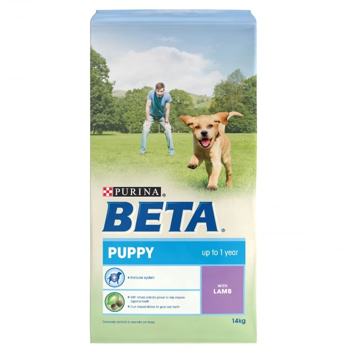 Beta Puppy Dog Food With Lamb 14kg