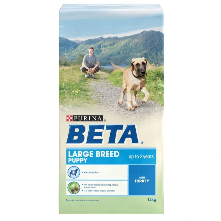 Beta Puppy Large Breed Dog Food With Turkey 14kg