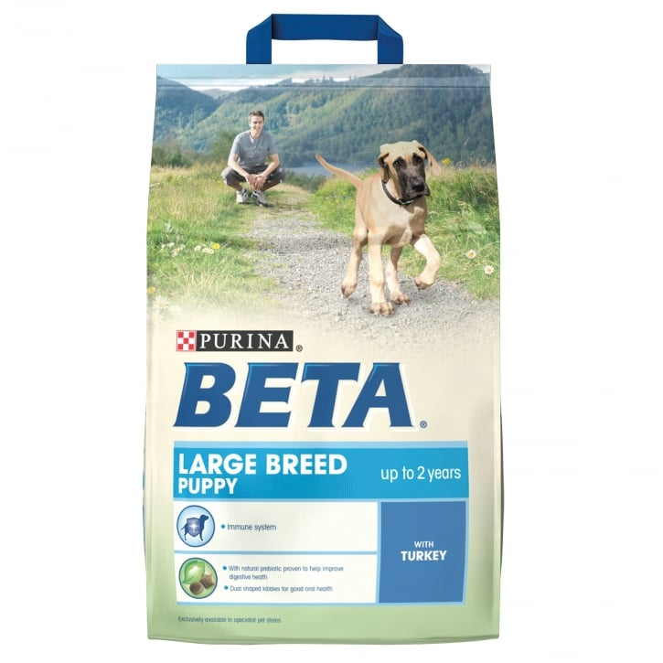 Beta Puppy Large Breed Dog Food With Turkey 2.5kg