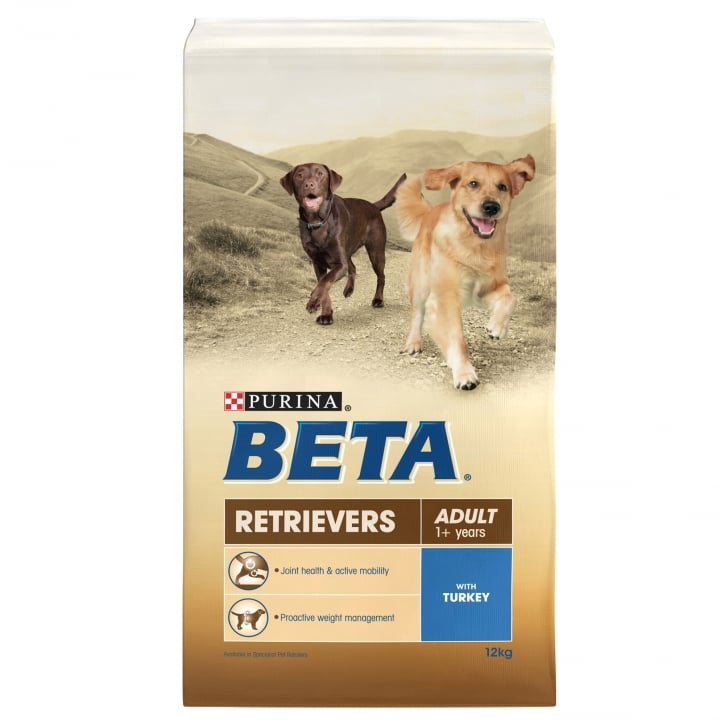 Beta Retriever Adult Dog Food with Turkey 12kg