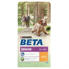 Senior 9+ Years Dog Food With Chicken 14kg