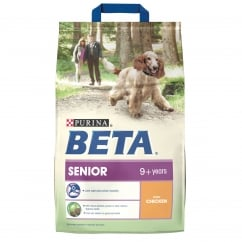 Beta Senior 9+ Years Dog Food with Chicken 2.5kg