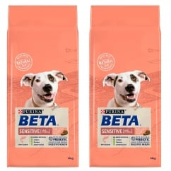 Sensitive Adult Dog Food With Salmon 1+ Years 2 x 14kg