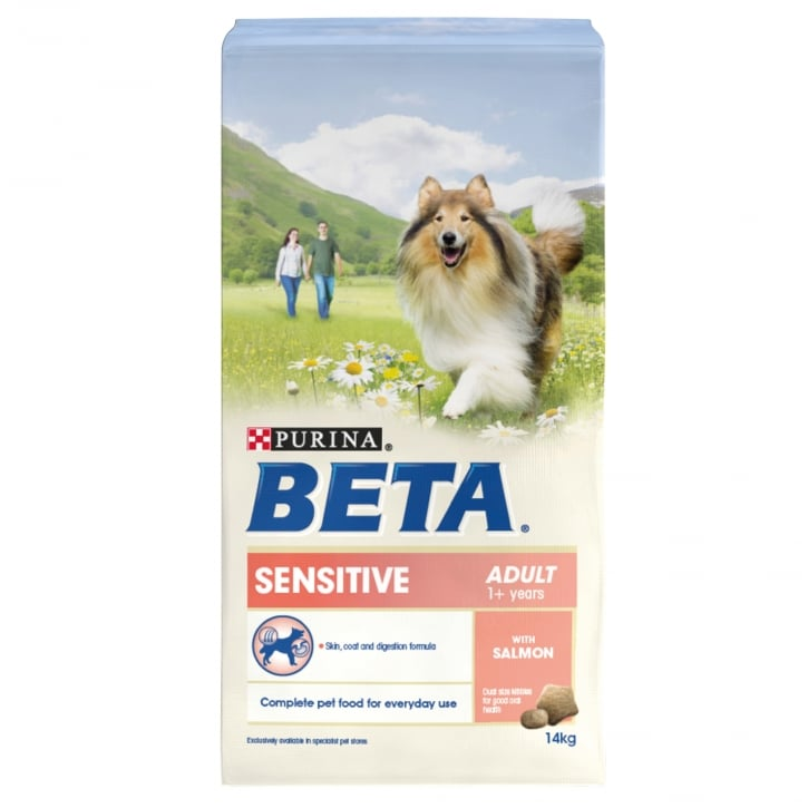 Beta Sensitive Adult Dog Food With Salmon & Rice 14kg
