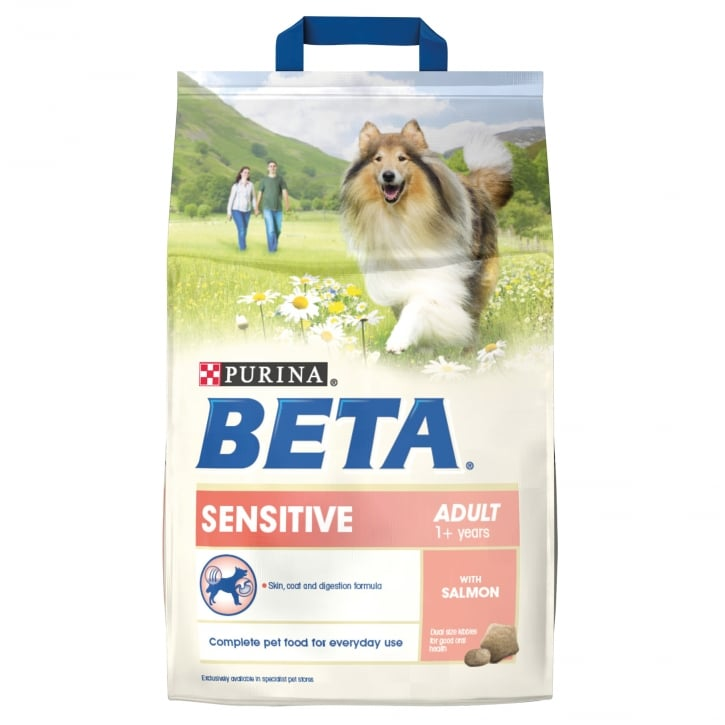 Beta Sensitive Adult Dog Food With Salmon & Rice 2.5kg