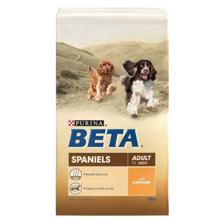 Beta Spaniel Adult Dog Food with Chicken 12kg