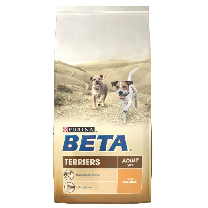 Beta Terrier Adult Dog Food with Chicken 2kg
