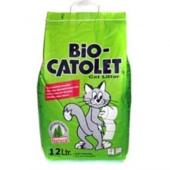 Bio-catolet Recycled Paper Cat Litter - 12 Litre.
