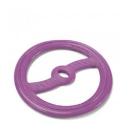 Baby Bionic Rubber Tug N Toss Purple