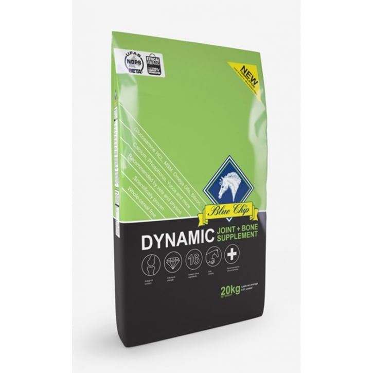 Blue Chip Dynamic Horse Joint & Bone Supplement 20kg