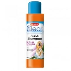 Bob Martin Clear Flea Shampoo For Puppies & Dogs 250ml