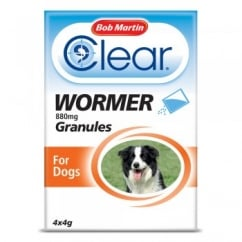 Clear Wormer Granules for Dogs