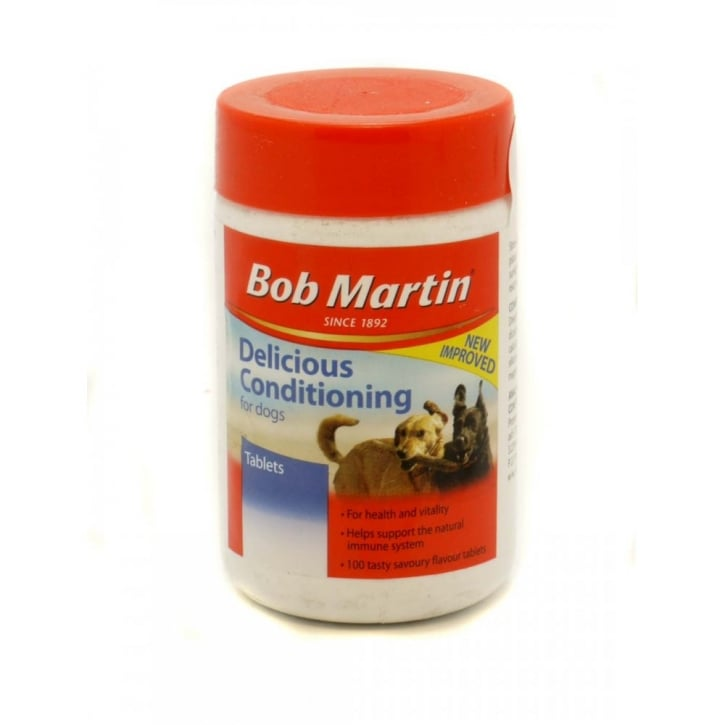Bob Martin Delicious Conditioning Tablets for Dogs 100 Pack