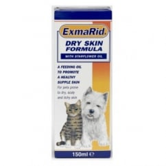 Exmarid Dog & Cat Dry Skin Formula With Starflower Oil 150ml