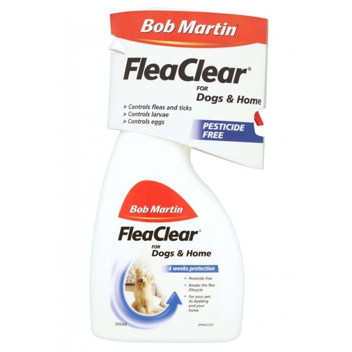 Bob Martin Flea Clear Spray For Dogs and Homes 300ml