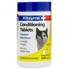 Bob Martin Kitzyme Conditioning Tablets for Cats 300 Pack
